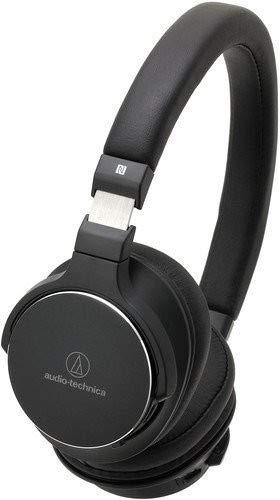 Audio-Technica ATH-SR5BT Diadema Binaural Alámbrico/Inalámbrico Negro - Auriculares (Inalámbrico y alámbrico, Diadema, Binaural, Circumaural, 5-40000 Hz, Negro)