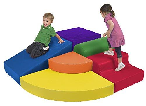 ECR4Kids Softzone Play Corner Climb and Slide Set (6-Piece)