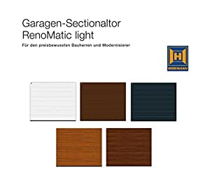 h rmann sektionaltor renomatic light 2017 epu 40 inkl antrieb handsender baumarkt. Black Bedroom Furniture Sets. Home Design Ideas