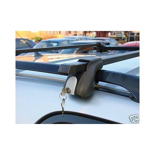 Maypole Dachträger, abschließbar, für Volkswagen Touran 5-Türer Kompaktvan, mit Dachreling, ab Baujahr 03