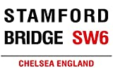 Stamford bridge chelsea london england acrylic fridge magnet or can be used a a plaque