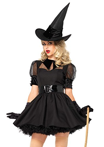 Leg Avenue 85238X - Bewitching Witch Damen kostüm , Größe 3X-4X (EUR (Plus Size Hexe Kostüm)