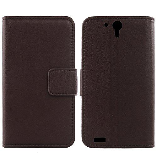 Gukas Design Echt Leder Tasche Für Medion Life X6001 MD 98976 6