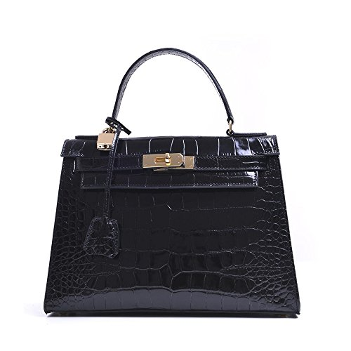 carbotti-bellino-patent-croc-leather-grab-handbagwedding-evening-bag-black