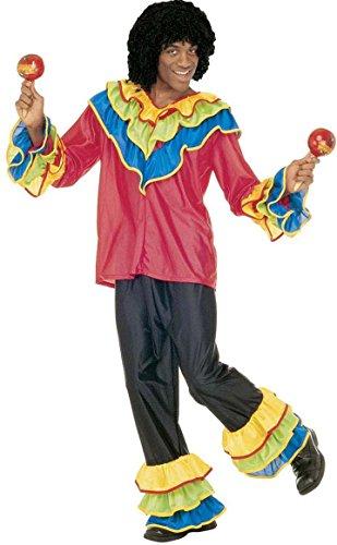 Brasilien Samba Tänzer Kostüm Faschingskostüm (Kostüm Brasilien Samba)