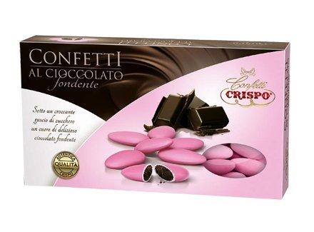 Confetti crispo | confetti al cioccolato | rosa | 1 kg
