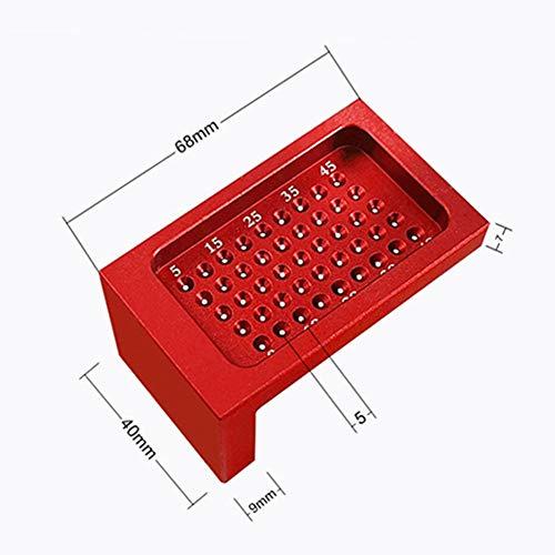 41w1AwuTgUL - Herramientas de carpintería de precisión, regla de medición de agujeros en forma de T de aleación de aluminio, calibre de alta precisión, marca de ayuda de calibración cruzada