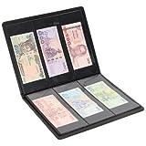 Lewano Leather Currency Storage 90 Pocket Album (Black)