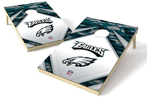 Proline 2'x3' NFL Philadelphia Eagles Cornhole Set - Millennial Diamond Design -