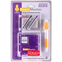 GameMaster Nintendo DS Universal Game Carrier Protection Kit (Purple)