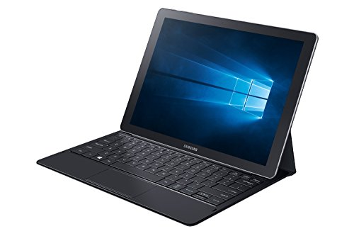 Samsung Galaxy TabPro S Tablet da 12' FHD SuperAMOLED, Processore Intel Core M3, 4 GB RAM, Nero [Versione Italiana] [Italia]