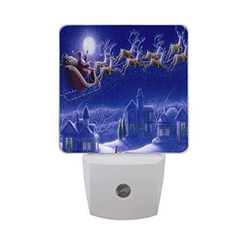 Santa Claus Led Light Lamp for Hallway, Kitchen, Bathroom, Bedroom, Stairs, DaylightWhite, Bedroom, Compact ()