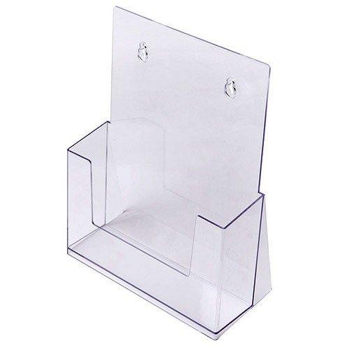 Porta depliant DIN A4, Menù da tavolo Porta volantini in Acrilico