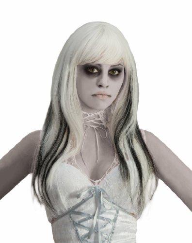 Perücke Phantom (Phantom Ghost Black & White Costume Wig Adult One)