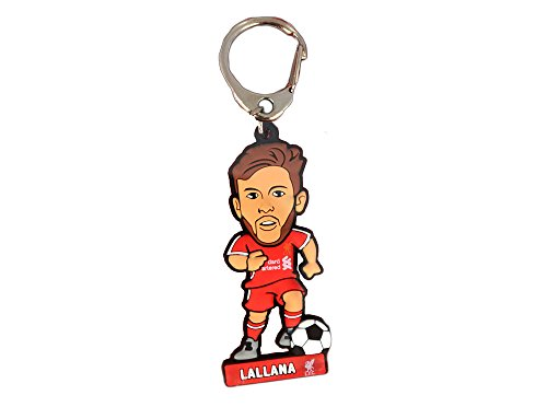 "Official LIVERPOOL FC PVC player shape ""ADAM LALLANA"" keyring"