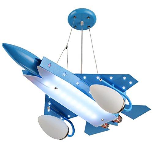 Guo Kinderzimmer Schlafzimmer Lichter Kämpfer Kreative Kronleuchter Junge Aircraft Lichter Eisen E14 Lampe Hafen