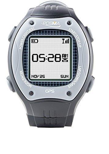 Posma W3 Reloj Deportivo para correr con navegación GPS, Antena de 2,4 GHz + Comunicación, y Brújula Digital (E-Compass)