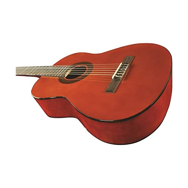 "Eko CS-10 Natural Corpo da 39"" Scala 650mm Chitarra classica 4/4 con custodia rockbag"