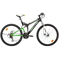 Bikesport HUNTER Bicicletta Mountain Bike Doppia sospensione 26
