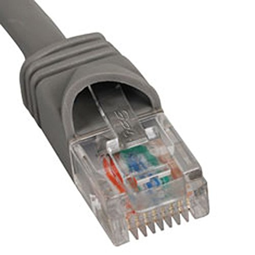 ICC PATCH CORD, CAT 5e, MOLDED BOOT, 7' GY (Icc-patch-kabel)