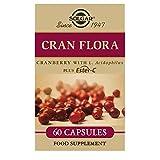 Solgar Cran Flora Cranberry Vegetable Capsules - Pack of 60 by Solgar