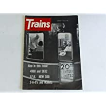 Trains. The magazine of railroading. August 1962