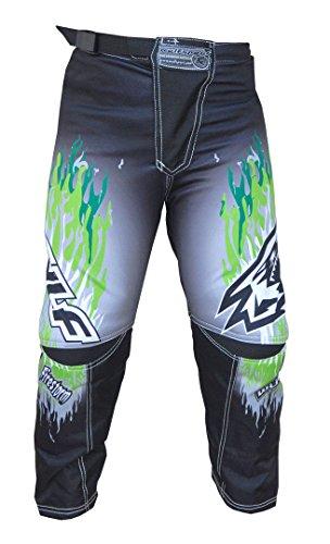 Wulfsport Firestorm Kinder Anzug Motorrad Motocross ATV Quad MX Racing Sport Junior Bekleidung Bike Anzug für Kinder (3-13 Jahre, 20-30, Mehrere Farben) - Grun - 8-10 Jahre, 24-Taille (Racing-anzug Fox)