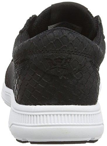 Supra HAMMER RUN Unisex-Erwachsene Sneaker Schwarz (BLACK  - WHITE   BLK)