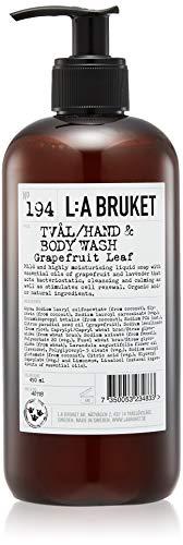 L:a Bruket No. 194 Flüssigseife, Grapefruit Leaf,1er Pack (1 x 450 ml)