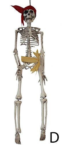 öße ca. 43 cm | Geister-Pirat / Halloween-Deko (D) (Pirat Für Halloween)