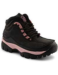 Groundwork , Chaussures de sécurité pour femme Noir noir