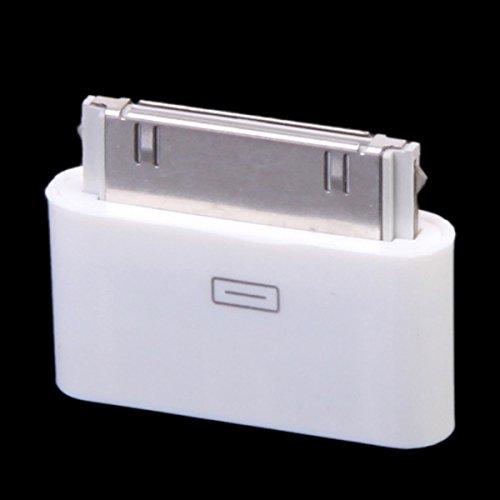 Micro USB a 30Pines Hembra/Macho Adaptador de Cargador para Apple iPhone 4S/iPad/iPod