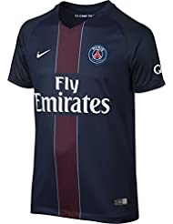 cheap for discount e5521 9fb2c Nike 2016 2017 PSG Stadium Home Maillot Enfant