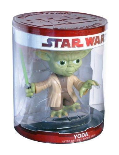 Imagen principal de Funko Star Wars - Muñeco de Yoda con cabeza móvil