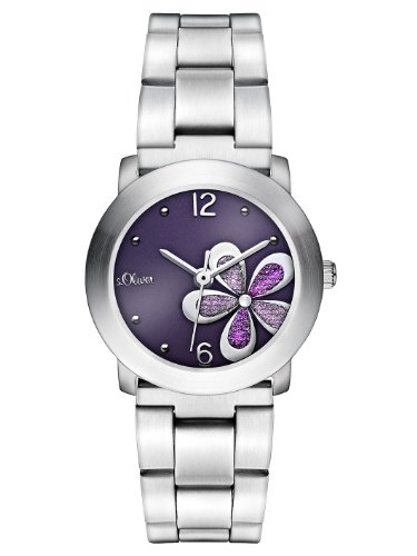 s.Oliver Women's Quartz Watch SO-2480-MQ SO-2480-MQ with Metal Strap