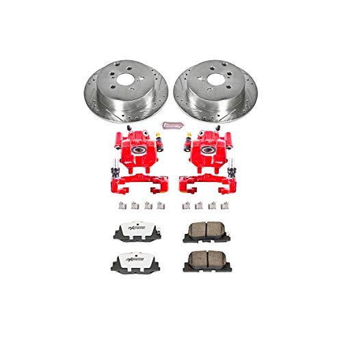 Power Stop KC2319-26 Z26 Street Warrior Brake Kit with Powder Coat