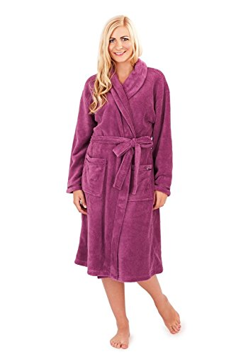 Womens Loungeable Boutique Full Length Fleece Dressing Gown - 41w1MdF3p8L - Womens Loungeable Boutique Full Length Fleece Dressing Gown