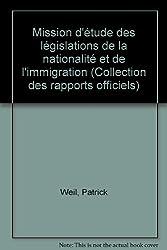 Mission d'étude des législations de la nationalité et de l'immigration