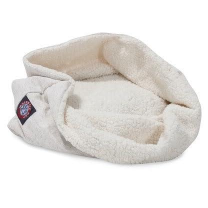 17 Inch Magnolia Wales Burrow Cat Bed 1