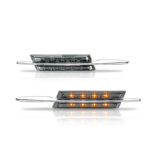 Akhan SB06 - Clignotant latéral LED Convient pour BMW E81/E82/E87/E88/E90/E91/E92/E60/E61