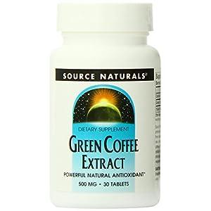 Grüner Kaffee Extrakt – Fatburner & Energie – 500 mg – 30 Tabletten
