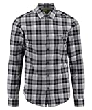 BOSS Green Herren Regular Fit Freizeit Hemden 50326484, Gr. X-Large, Grau (medium Grey 031)