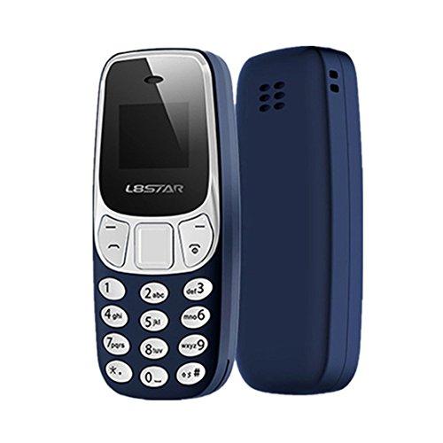 SODIAL Mondi Telefono Mini Bluetooth piu' piccolo Mobile Voice Changer Dual Sim L8Star BM10