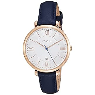 Fossil Jacqueline Analog White Dial Women's Watch – ES3843I