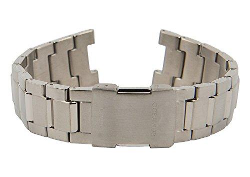 Casio Oceanus Uhrenarmband Titan Band Titangrau für OCW-100TDE 10196796