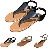 Lailailaily?Toe Thong?Sandals Summer?Flip?Flop?Ankle?Women's?Open?Strap?Flat?Casual?Shoes