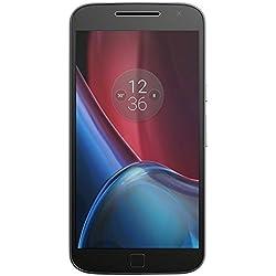 """Motorola Moto G4 Plus - Smartphone libre Android (4G, 5.5"""", cámara de 16 MP, 2 GB de RAM, memoria interna de 16 GB ), color negro - [Exclusivo Amazon]"""