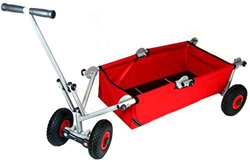 Preisvergleich Produktbild Original ulfBo Touren-Theo faltbarer Bollerwagen Expeditionswagen Tourenwagen Transportwagen. Qualität seit 2001