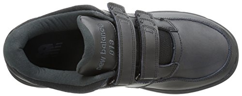New Balance Men's MW813V1 Walking Shoe, Black, 10 2E US Black