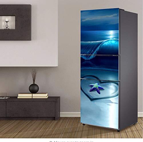 DAQIONG Pegatinas Puertas Arte Lavaplatos Refrigerador
